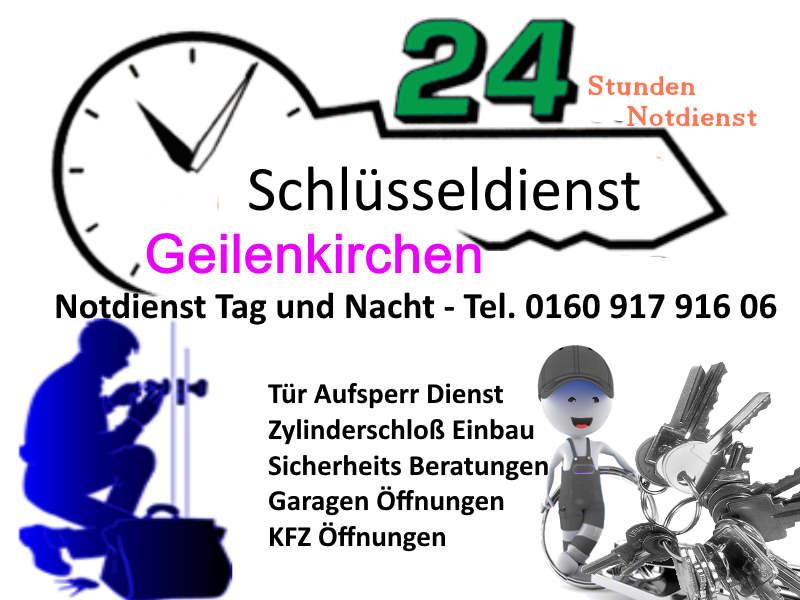 Schlüsseldienst Geilenkirchen zum 50 Euro Festpreis Tag und Nacht