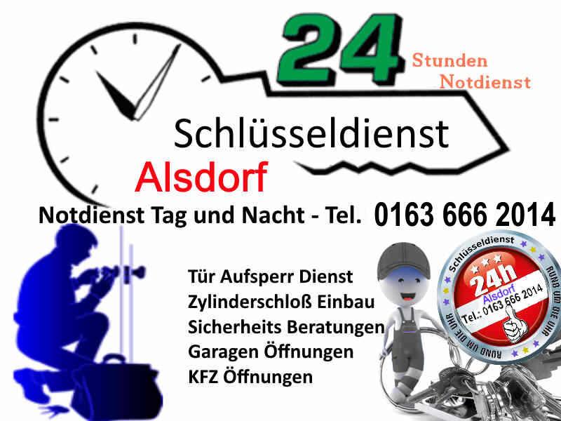 Schlüsseldienst Alsdorf Notdienst SOFORT